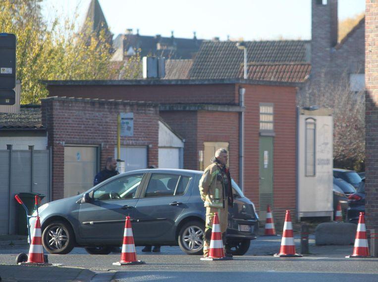 De fietser werd aangereden op het kruispunt van de Slagveldstraat.