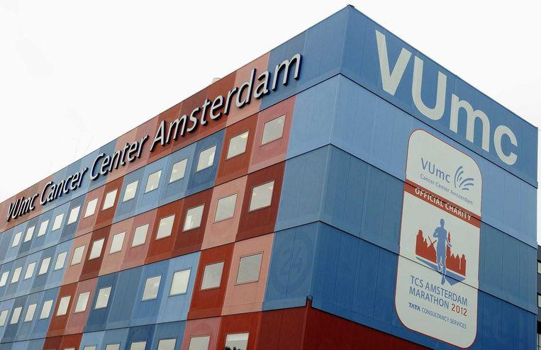 Het VUmc in Amsterdam. Beeld null