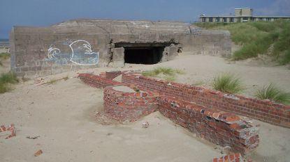 Onbekenden stichten brand in bunker