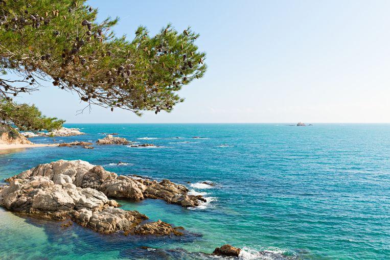 De prachtige kust van de Costa Brava.