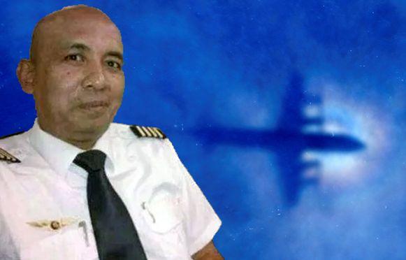 Piloot Zaharie Ahmad Shah.