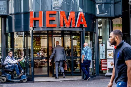 Exterieur van een vestiging van HEMA.