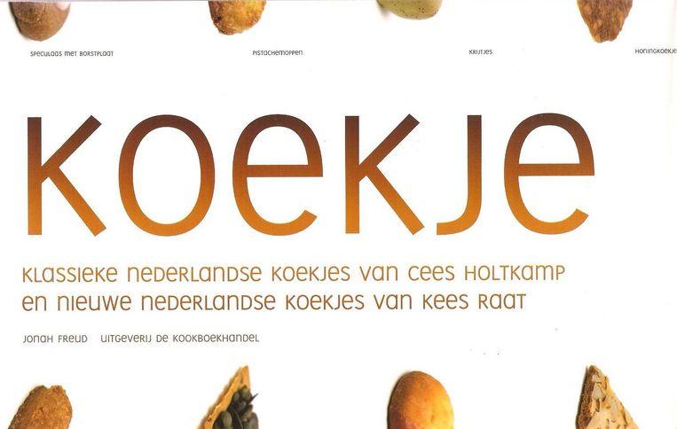 Koekje. Uitgeverij de Kookboekhandel Amsterdam, 14,95 euro. Beeld