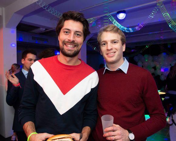 Gilles Van Bouwel en Thomas