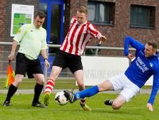 Uitslagen van het amateurvoetbal van zondag 23 april