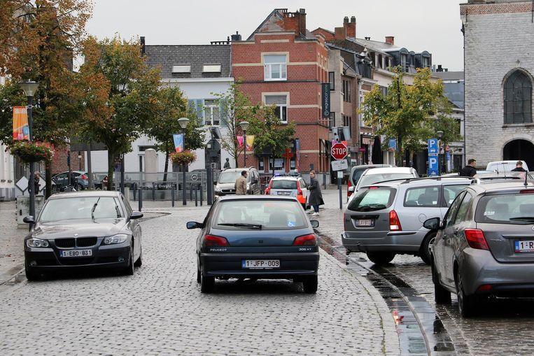 De Grote Markt zal parkeervrij gemaakt worden.