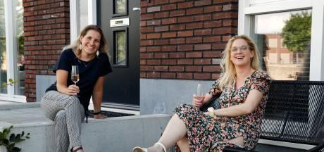 Buren Francien (33) en Margaretha (49) hebben elkaar helemaal gevonden, maar nu moet Francien verhuizen