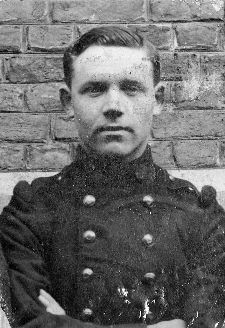 Henri Reyns, gefusilleerd in Oostvleteren op 17 mei 1915.
