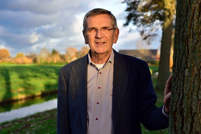 Voorzitter Rinus Bosman van stichting Elim, initiatiefnemer van het hospice.