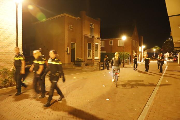 Politie extra alert direct na de steekpartij in Boxmeer, begin juli.