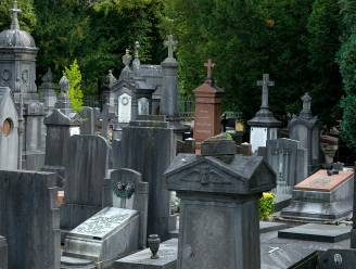 Dieven stelen kruisbeelden van graf