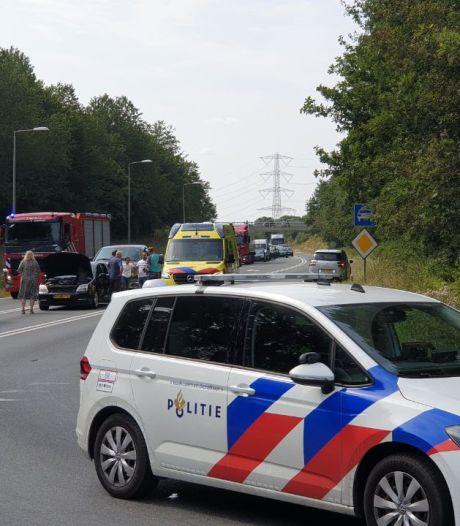 N35 bij Enschede afgesloten na ongeluk