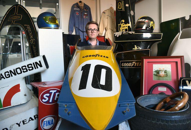 Dit is Joris Meuffels, Formule 1-verzamelaar