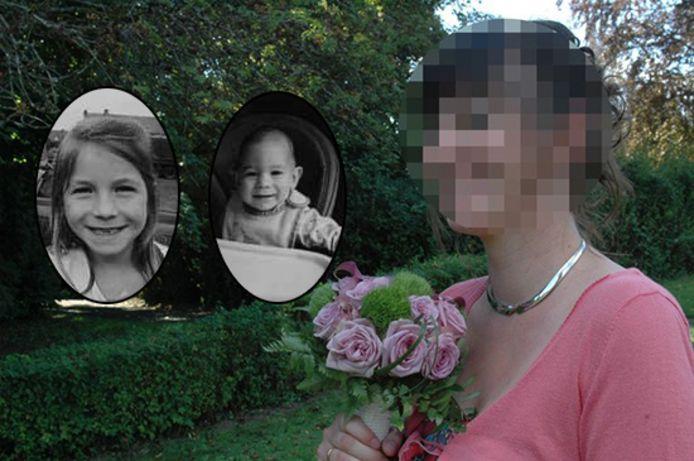 Cérès (7) en Orphée (bijna 2 jaar) werden vorige week om het leven gebracht door hun moeder Julie L. (37).