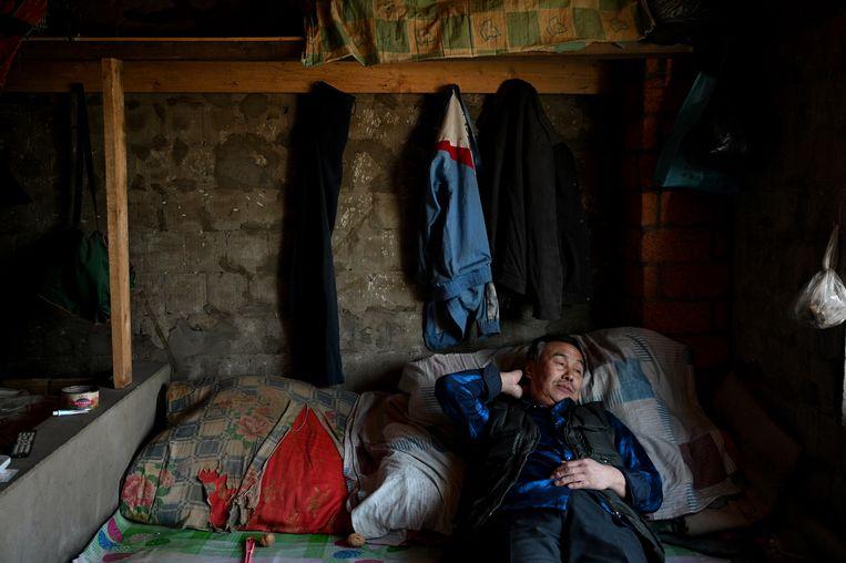 Chinees in Birobidzjan dicht bij de grens.  Beeld null