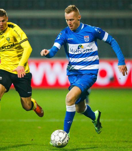 Zonder een scorende spits schiet PEC Zwolle nauwelijks wat op