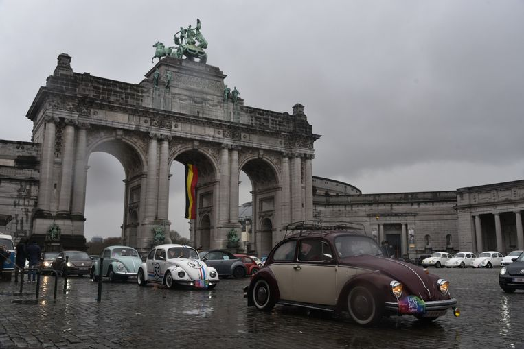 Love Bugs Parade in Brussel