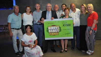 'Ninove Danst' schenkt 1.500 euro aan Teledienst