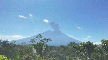 Vulkaan op Bali opnieuw uitgebarsten: as tot 2.000 meter hoog