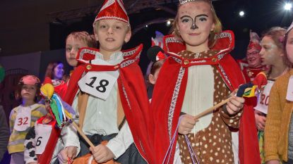 Kiyan en Mercedes vormen nieuw kinderprinsenpaar