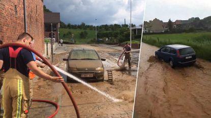 Zware modderstromen treffen Sint-Truiden en Huldenberg
