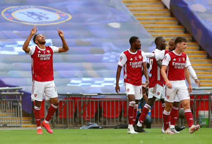 Un doublé et une FA Cup pour Pierre-Emerick Aubameyang.