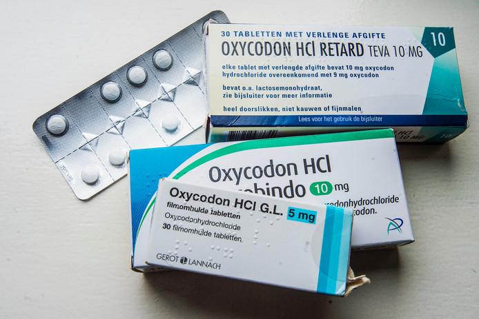 Middelen als oxycodon moeten vanwege hun verslavende werking zoveel mogelijk worden gemeden.