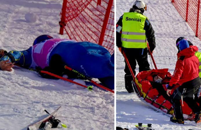 Le service médical est intervenu rapidement, et le skieur a dû être évacué en hélicoptère après une vingtaine de minutes de soins