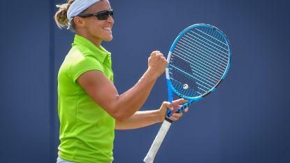Flipkens naar halve finale in Rosmalen, Elise Mertens onderuit tegen kwalificatiespeelster