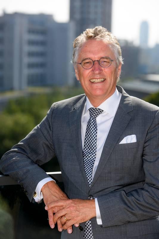 EINDHOVEN - De Eindhovense burgemeester John Jorritsma, die precies halverwege zijn ambtsperiode is.