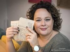 'Oorlogsbrief' uit Enschede na 72 jaar terug bij de Zanderinks