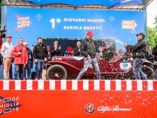 Mille Miglia: de finish komt in zicht, maar eerst nog langs Parma en Modena, de geboortestreek van Ferrari