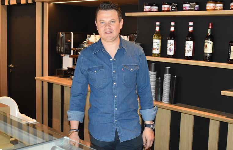 Miguel Meert is de drijvende kracht achter de cafetaria.