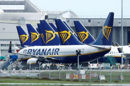 30 banen op de tocht bij Ryanair in België