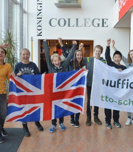 Koningin Wilhelmina College (KWC) in Culemborg: niet meer op reis maar tweetalig kan ook in coronatijd