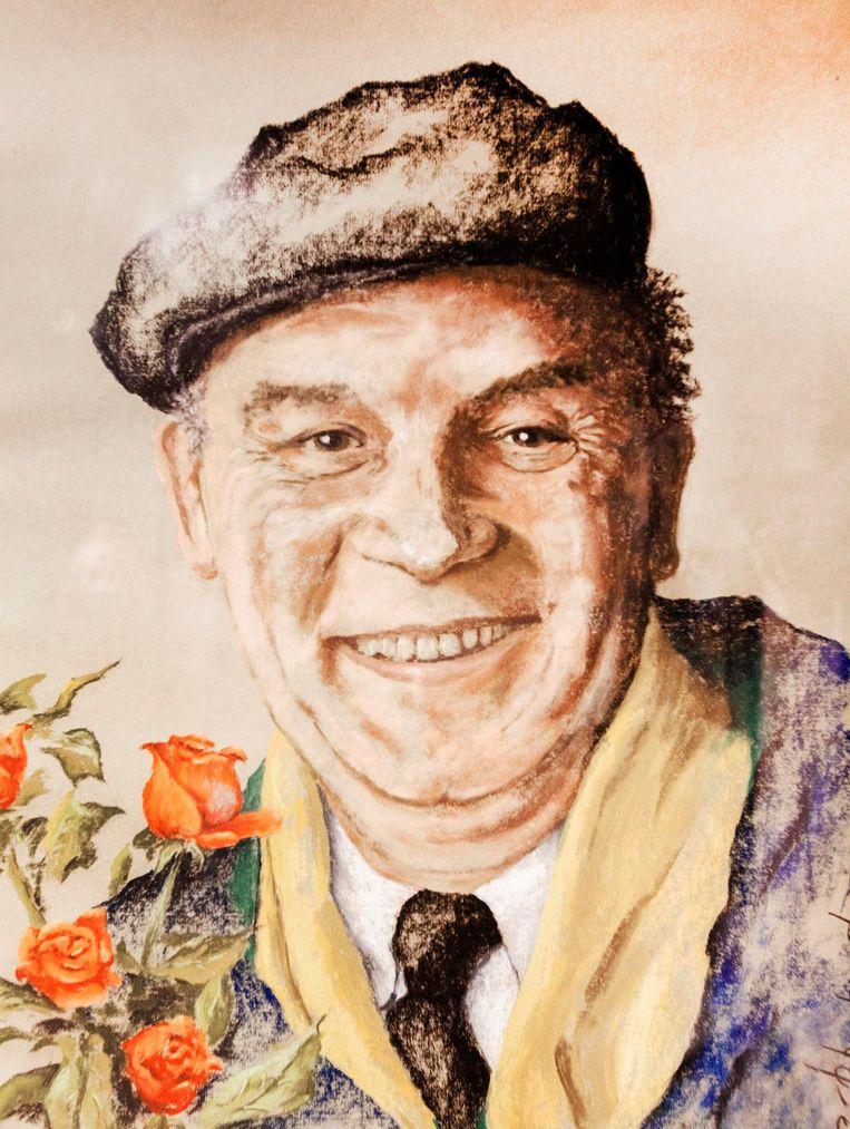 Wim Kerstens, de componist van het dadaïstische statement Bloemetjesgordijn. Beeld .