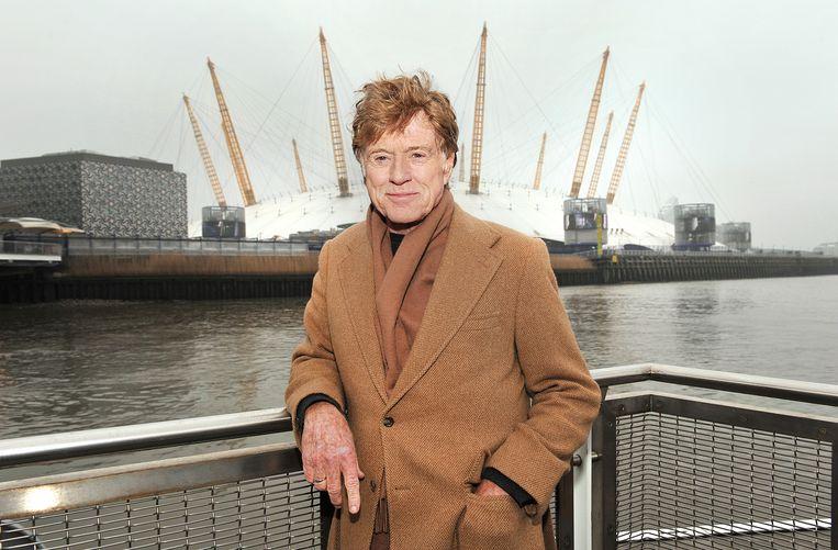 Robert Redford in London voor het Sundance festival.  Beeld Getty Images