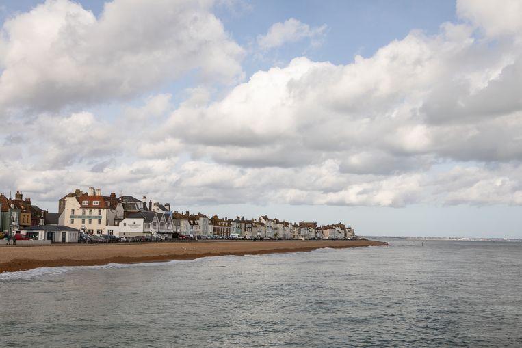 De kustplaats Deal stemde voor een Brexit. Het ligt vlakbij Dover, de grootste veerhaven van het Verenigd Koninkrijk en zal mogelijke gevolgen van chaos door de Brexit zeker voelen.  Beeld Antonio Olmos