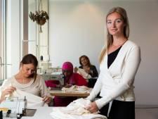 Haagse Giselle probeert met handgemaakte kleding de markt te veroveren: 'Ik ga het zelf doen, dacht ik'
