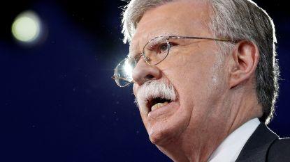 Trump zet nu ook nationale veiligheidsadviseur aan de deur en vervangt hem door 'super hawk' John Bolton