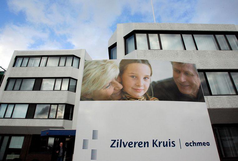 Exterieur van het hoofdkantoor Zilveren Kruis/Achmea in Noordwijk. Beeld ANP