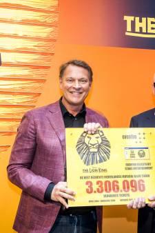 Lion King best bezochte musical in Nederland ooit