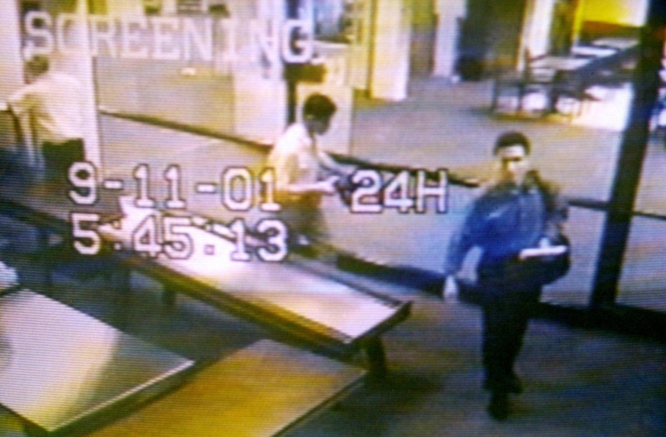 Mohammed Atta voor hij incheckte in de luchthaven van Portland.