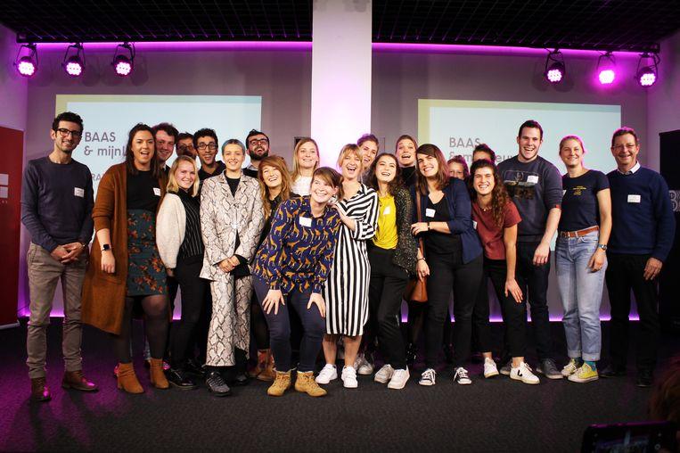 De 20 jonge ondernemers van BAAS - een initiatief van MIJNLEUVEN