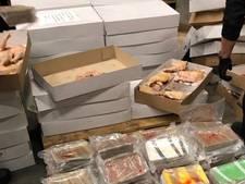 Crystal meth en ketamine gevonden in lading kippenbouten
