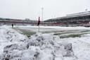 Het Kasteel, vanmiddag voor  (het afgelaste duel) Sparta - Vitesse.