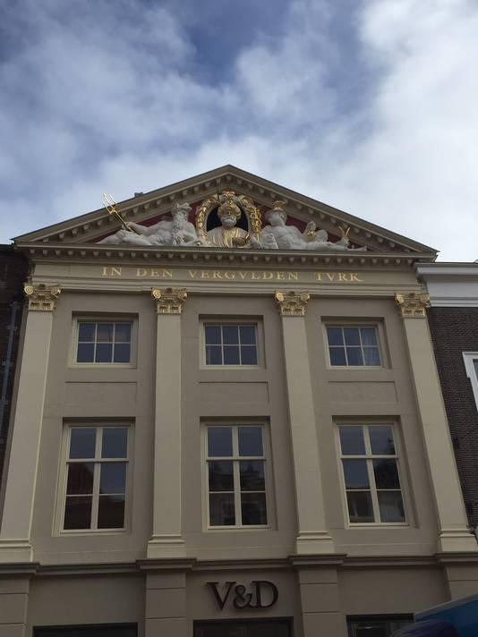 Vroom en Dreesmann in Leiden. Het pand behoort tot de mooiste filialen in Nederland en is enkele jaren terug geheel gerenoveerd.