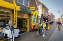Zo ziet Zeeman in Boxtel er nu uit. D66 komt met een voorstel om rommelige winkelpuien in het centrum aan te pakken.