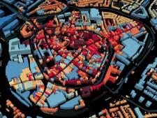 Interactieve kaart toont bouwjaar van bijna alle gebouwen in Amersfoort