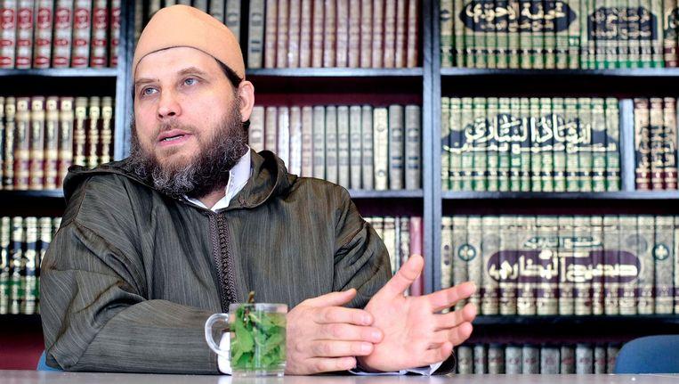 Imam Fawaz Jneid in 2008. Beeld anp